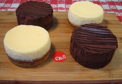 2 New York & 2 Chocolate Cheesecakes