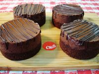 4 Chocolate Cheesecakes