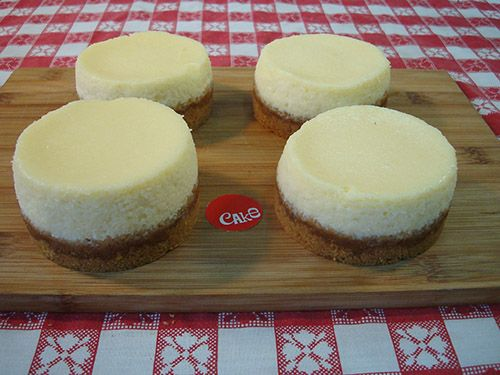 4 New York Cheesecakes