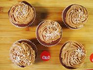 5 Chocolate LACTA Cupcakes