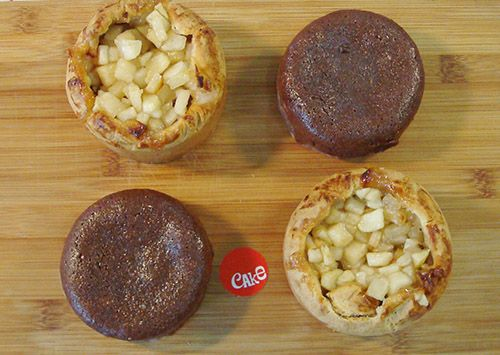 2 Apple pies & 2 Chocolate Fudges