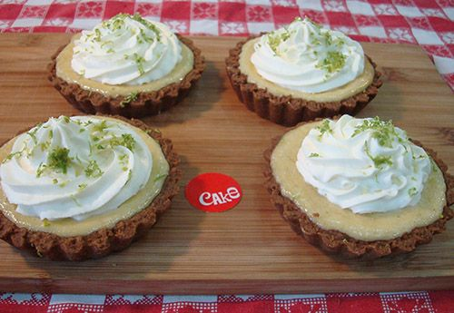 4 Key Lime Tarts